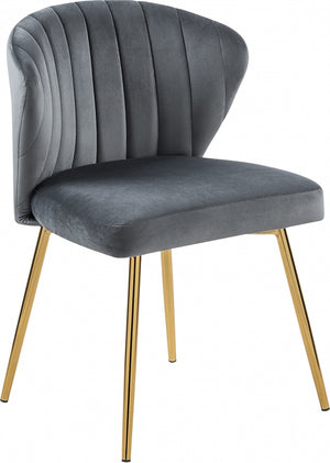 Channel Tufted Velvet Dining Chair in 6 Color Options