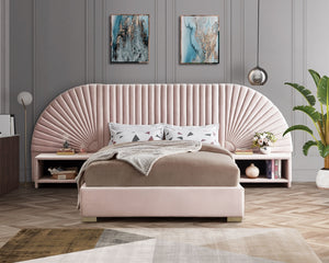 Rochelle Velvet Bed in 5 Color Options