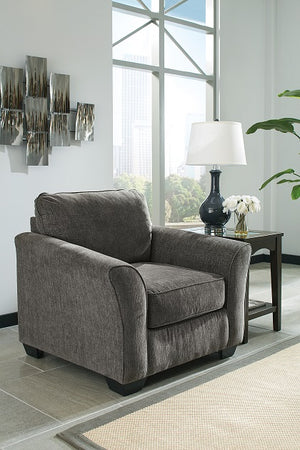 Brisa Slate Sofa Chaise with Optional Queen Sleeper