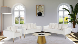 Quintin Velvet Living Room Collection in 6 Color Options