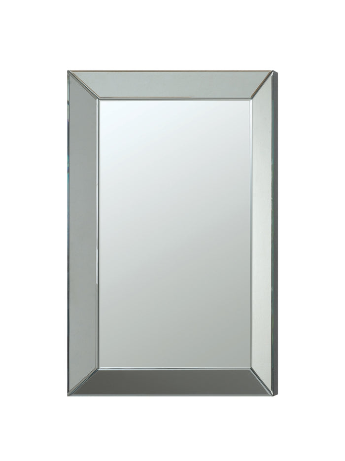 Rectangular Beveled Wall Mirror