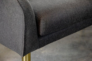 Woven Fabric Accent Bench in 3 Color Options