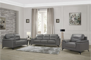 Middleton Living Room Collection in Silver or Dark Grey