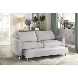 Primrose Grey Convertible Sleeper Sofa