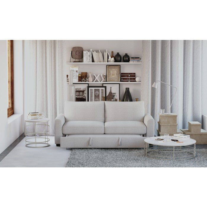 Priscilla Grey Convertible Sleeper Sofa