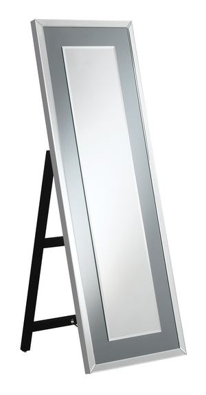 Freestanding Floor Mirror with LED Lights