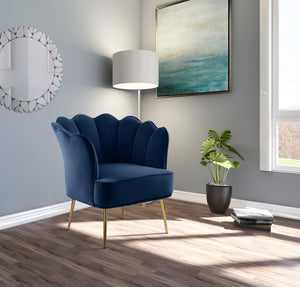 Lester Velvet Accent Chair in 7 Color Options