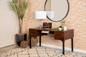 Wallie Solid Wood Writing Desk
