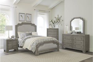 Chester Traditional Grey Bedroom Collection