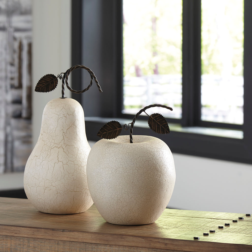 Apple & Pear 2 Piece Sculpture Set