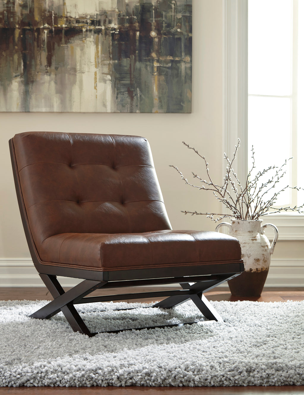 Sydney Tufted Accent Chair
