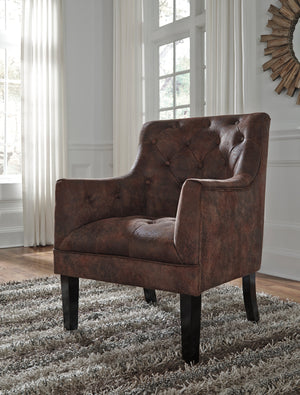 Drake Diamond Tufted Accent Chair