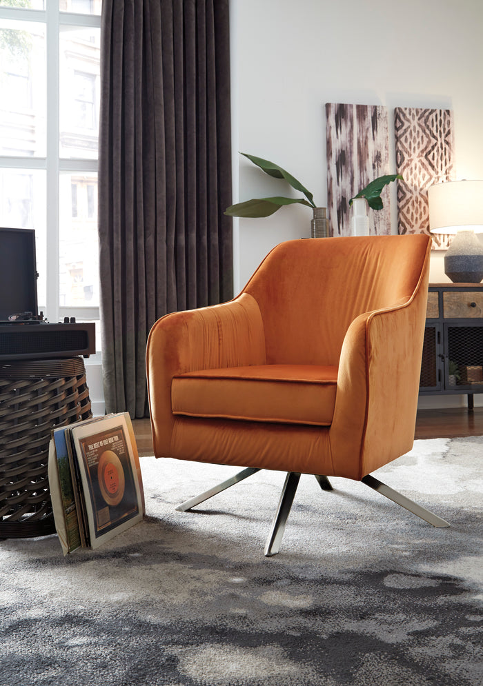 Angie Swivel Accent Chair