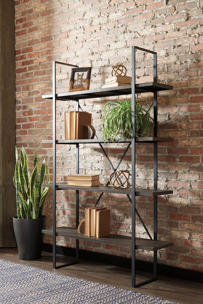 Grover Industrial Bookcase
