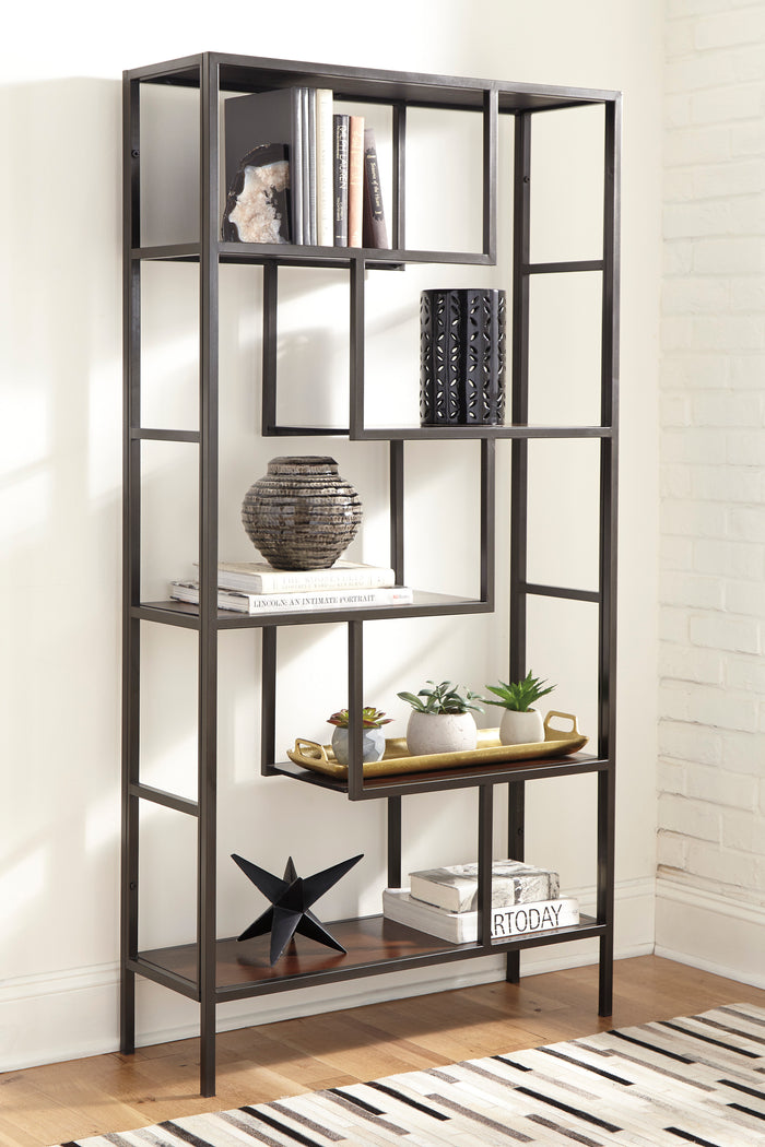 Frances Geometric Bookcase