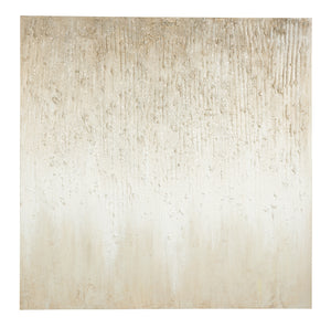Kristy Taupe Abstract Canvas Wall Art