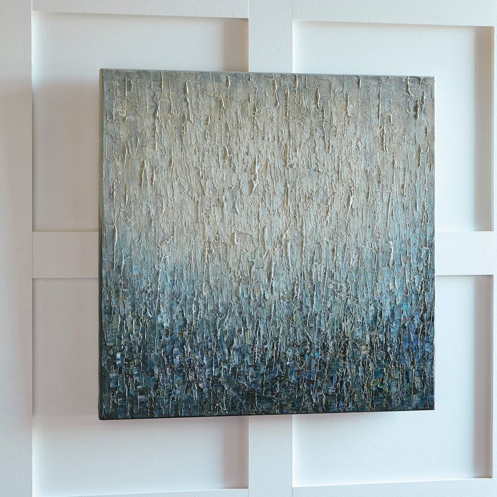 Ombre Textured Abstract Wall Art