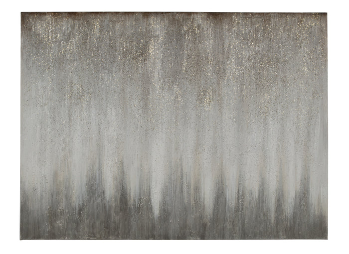 Foggy Abstract Canvas Wall Art