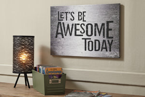 Motivational Quote Canvas Wall Art