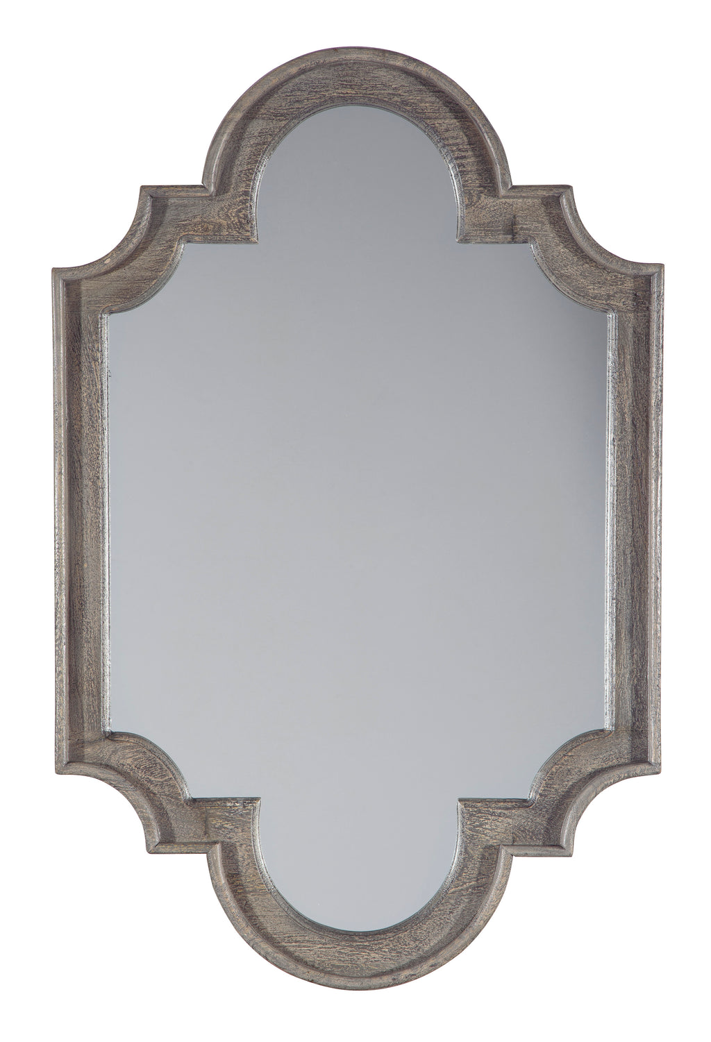 Antique Keyhole Design Accent Wall Mirror
