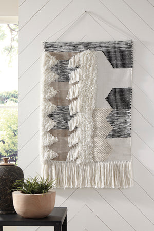 Boho Chic Woven Outdoor Safe Wall Decor