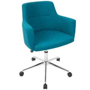 Annie Fabric Office Chair in 4 Color Options