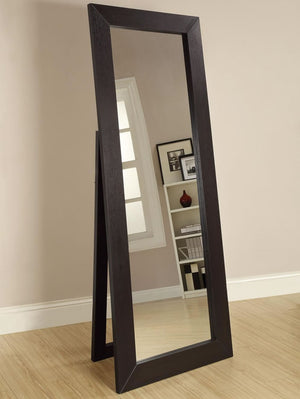 Full Length Standing Mirror in Black