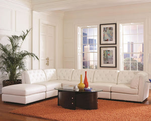 Quinn Bonded Leather Modular Sectional Sofa