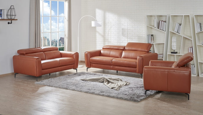 Conner Leather Living Room Collection