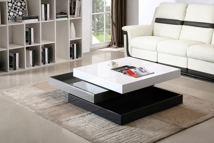 Modern Rotary Coffee Table