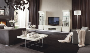 Canova White Media Stand by Alf Italia
