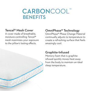 CarbonCool + OmniPhase Pillow