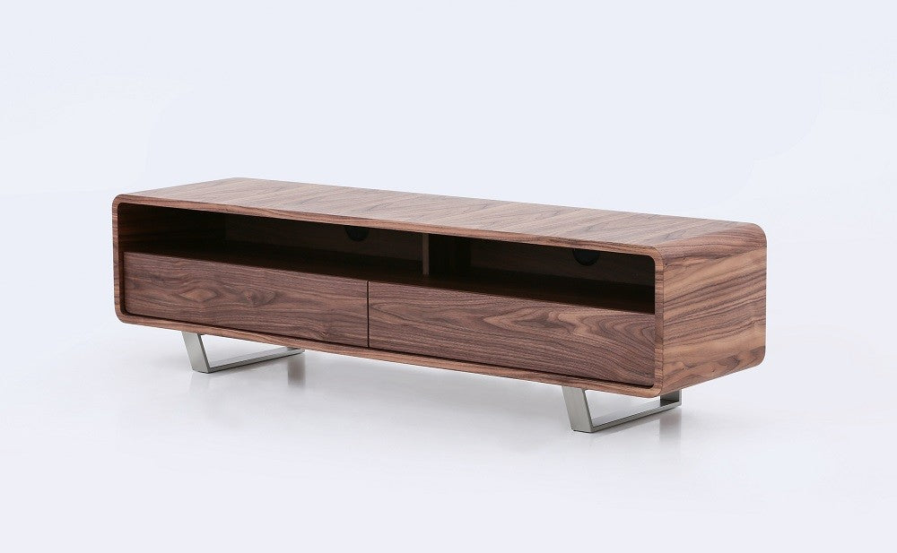 Gretchen TV Stand with Chrome Legs