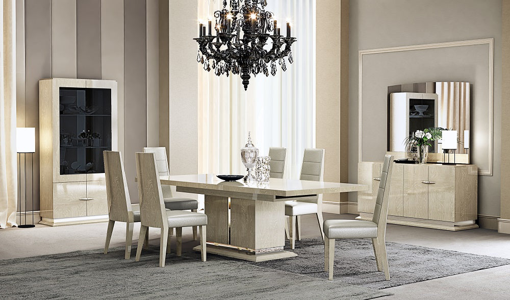 Ciara Lacquered Dining Room Collection