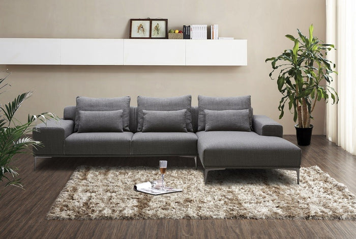 Christopher Grey Fabric Sectional