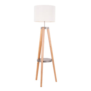Conrad Shelf Floor Lamp