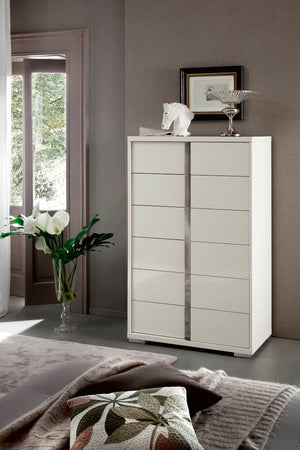 Imperia White Bedroom Collection with Optional Underbed Storage by ALF Italia