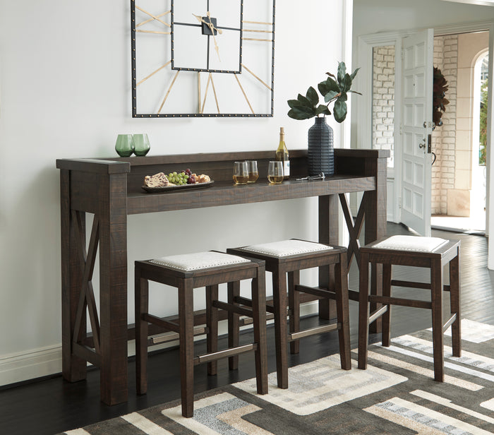 Halle Modern Farmhouse Bar Collection