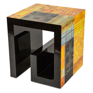 Illusions Collection Square End Table