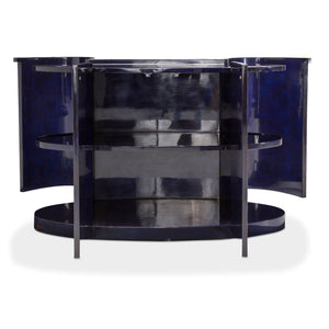 Illusions Collection Oval Accent Cabinet