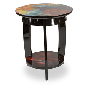 Illusions Collection Round Chairside Table