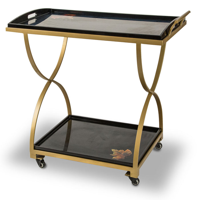 Illusions Collection Serving Cart