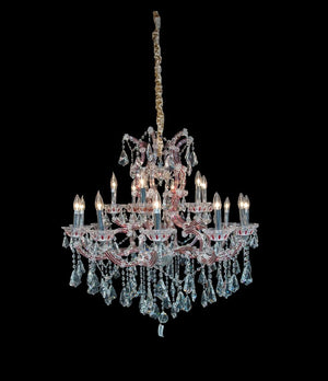 Palacio Red Chandelier in 2 Sizes