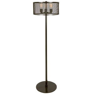 Andie Industrial Mesh Floor Lamp