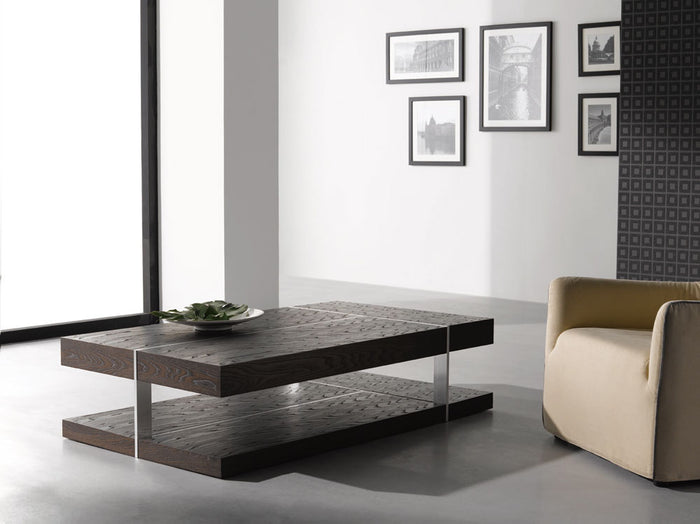 Nelly Zebrano Wood Coffee Table
