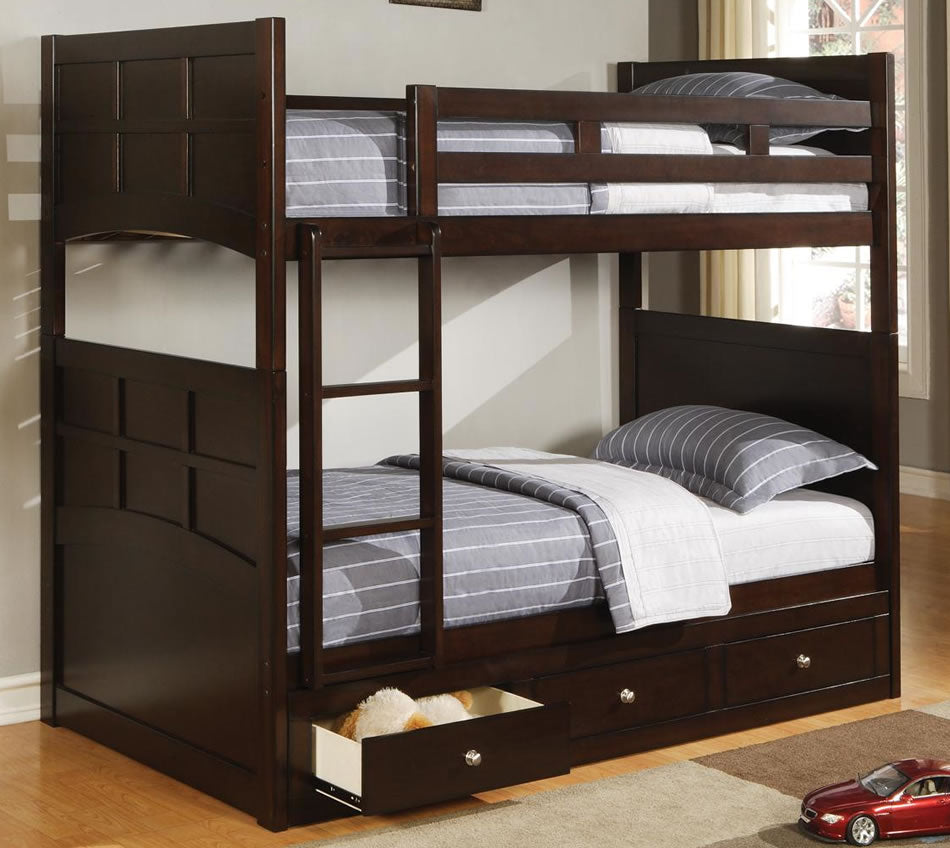 Jasper Bunk Bed with Optional Under Storage