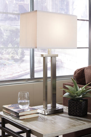Elan Contemporary Metal Table Lamp