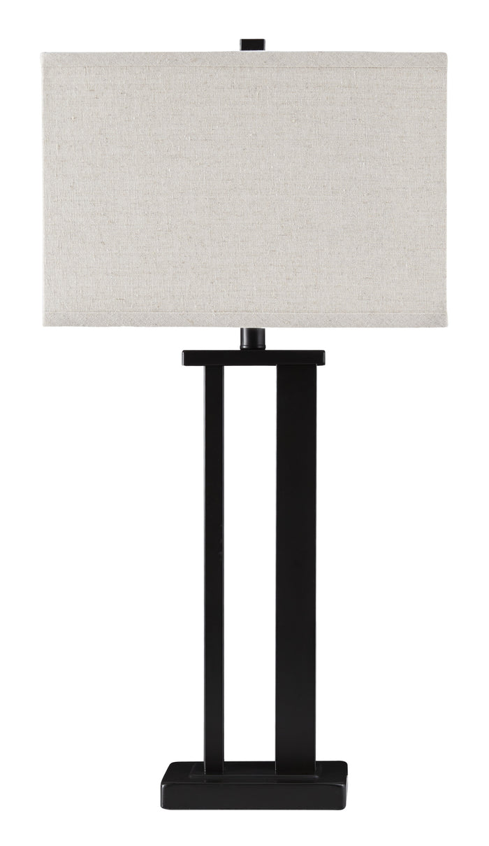 Aniela Bronze Metal Table Lamp