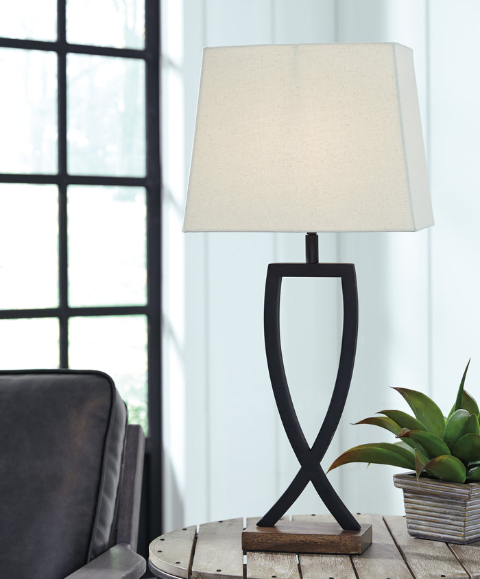 Makayla Metal Table Lamp