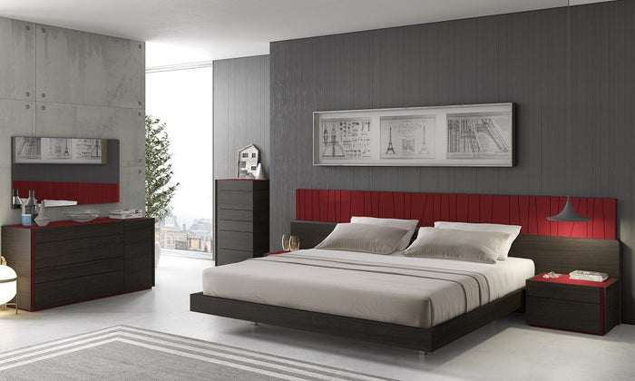 Lagas Modern Bedroom Collection with LED Lights